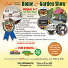 The cover of Solano Home & Garden Show: 2018 features a collage of photos against a light orange background.