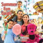 This magazine cover shows a family enjoying time at a fair.
